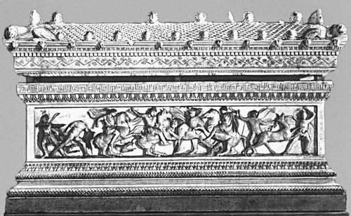 Эллинистическая культура. «Саркофаг Александра» из Сидона