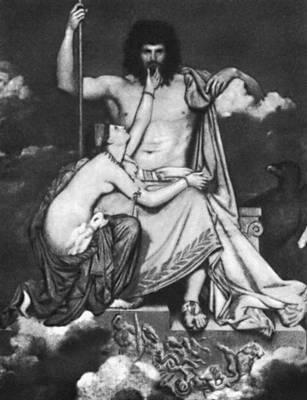 Энгр Ж. О. Д. «Юпитер и Фетида»