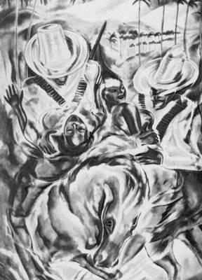 Энрикес К.  «Похищение мулаток»