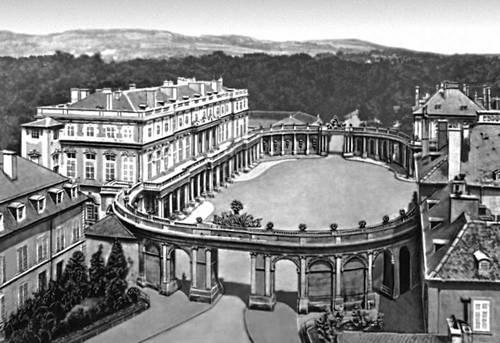 Эре де Корни Э. Королевская площадь в Нанси (Франция)
