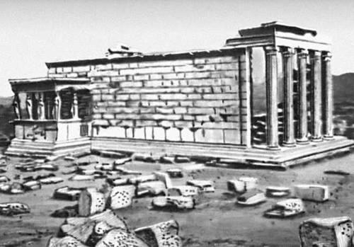 Эрехтейон на афинском Акрополе