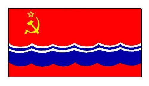 Эстонская ССР. Флаг государственный