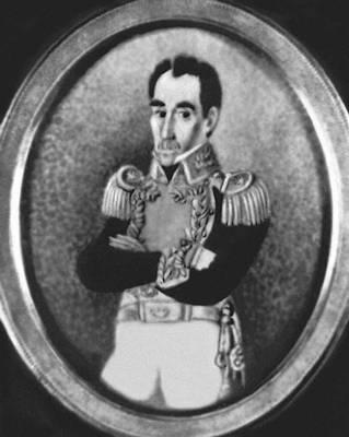 Эспиноса Х. М. Портрет С. Боливара