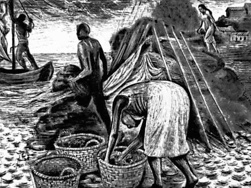 Эскамес Х. «Рыбаки»