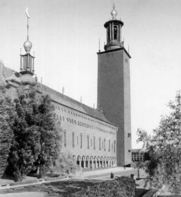 Эстберг Р. Ратуша (Стокгольм)