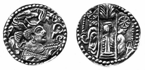 Эфталитская монета