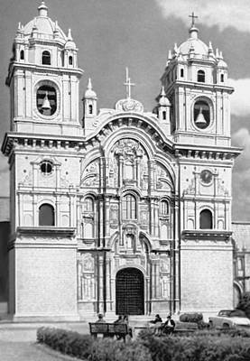 Эхидиано Х. Б. и др. Церковь Ла Компаньия в Куско
