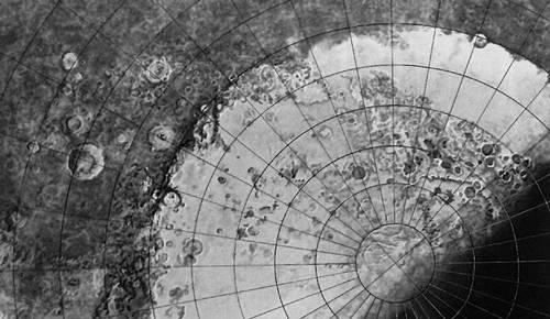Южная полярная область Марса