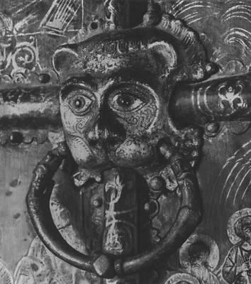 Южные врата Рождественского собора в Суздале