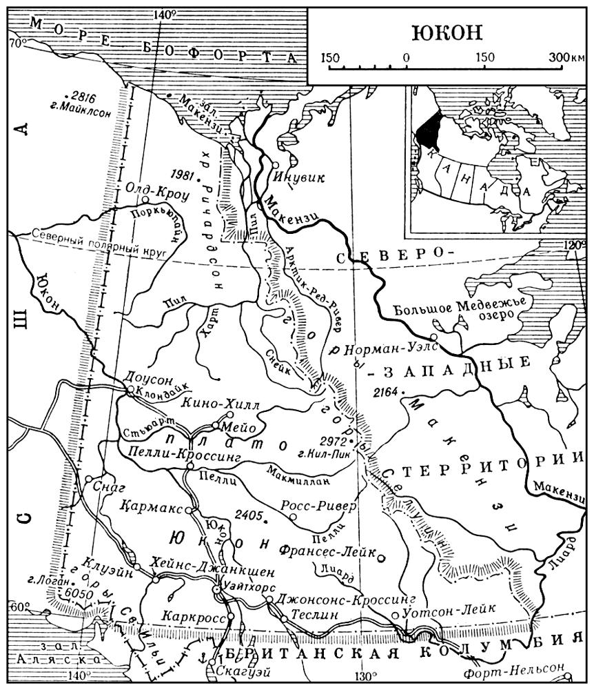 Юкон (карта)