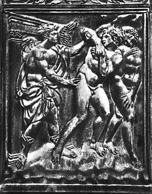 Якопо делла Кверча. «Изгнание 113 рая»