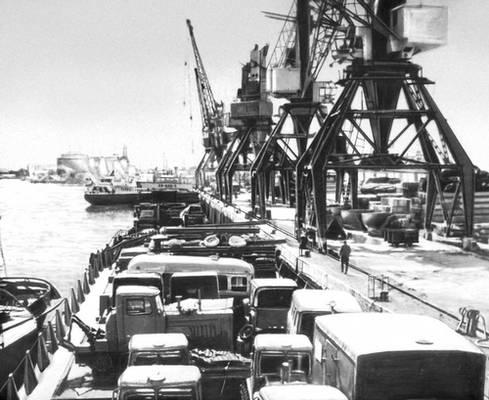 Якутский речной порт