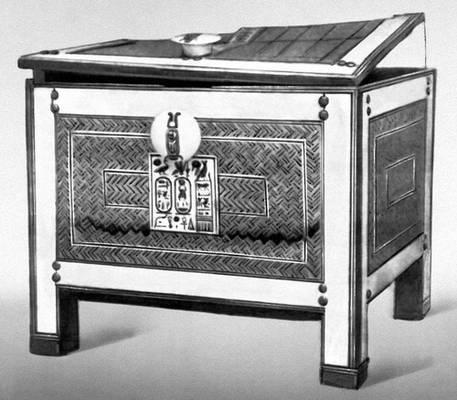 Ящик для драгоценностей из гробницы Тутанхамона